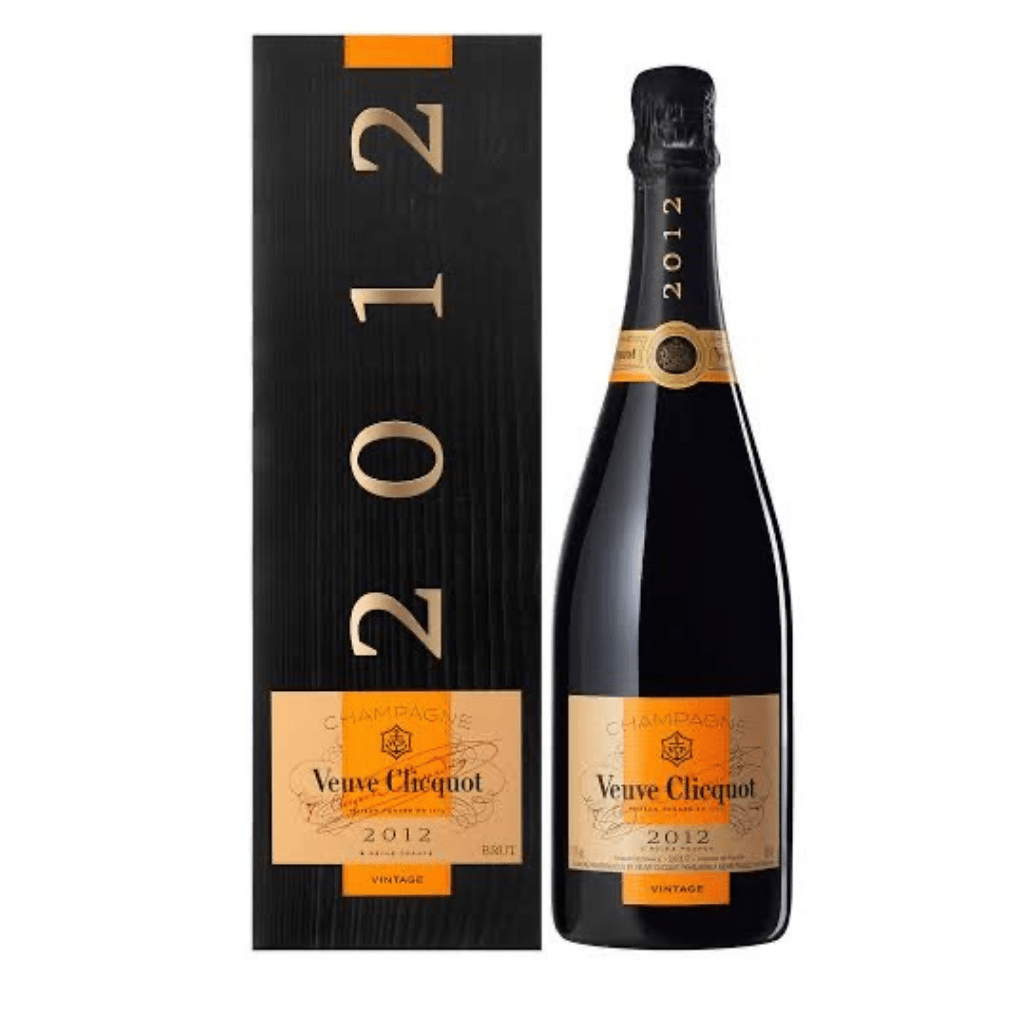 Personalised Veuve Clicquot Vintage 2012 750ml