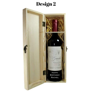 Personalised Lagarde Guarda Malbec DOC 2015 Gift Boxed
