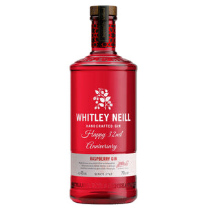 Personalised Whitley Neill Raspberry Gin 43% 700ml.
