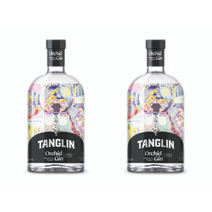 Tanglin Orchid Gin 42% 700 ml - Twin Pack