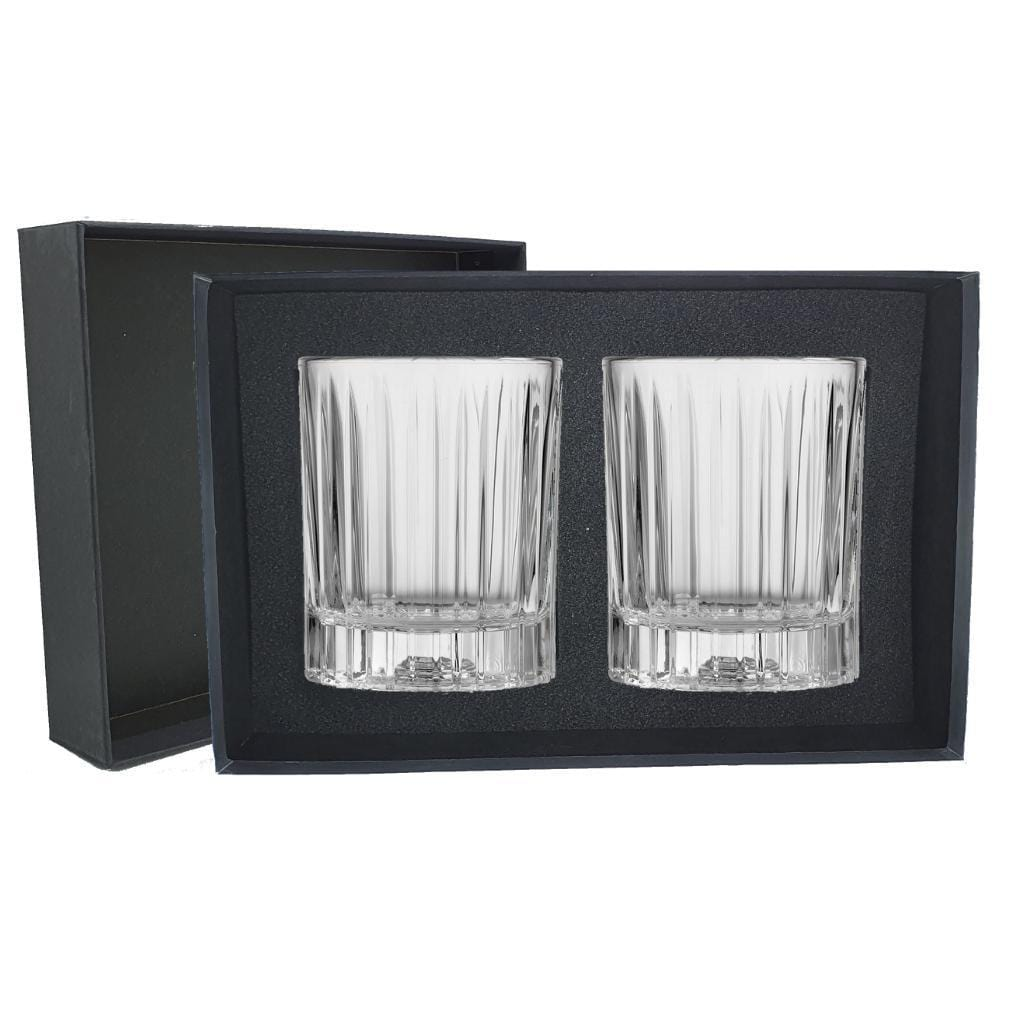 Libbey Flashback Heavy Whisky Glass in a Gift Box - 2 Pack