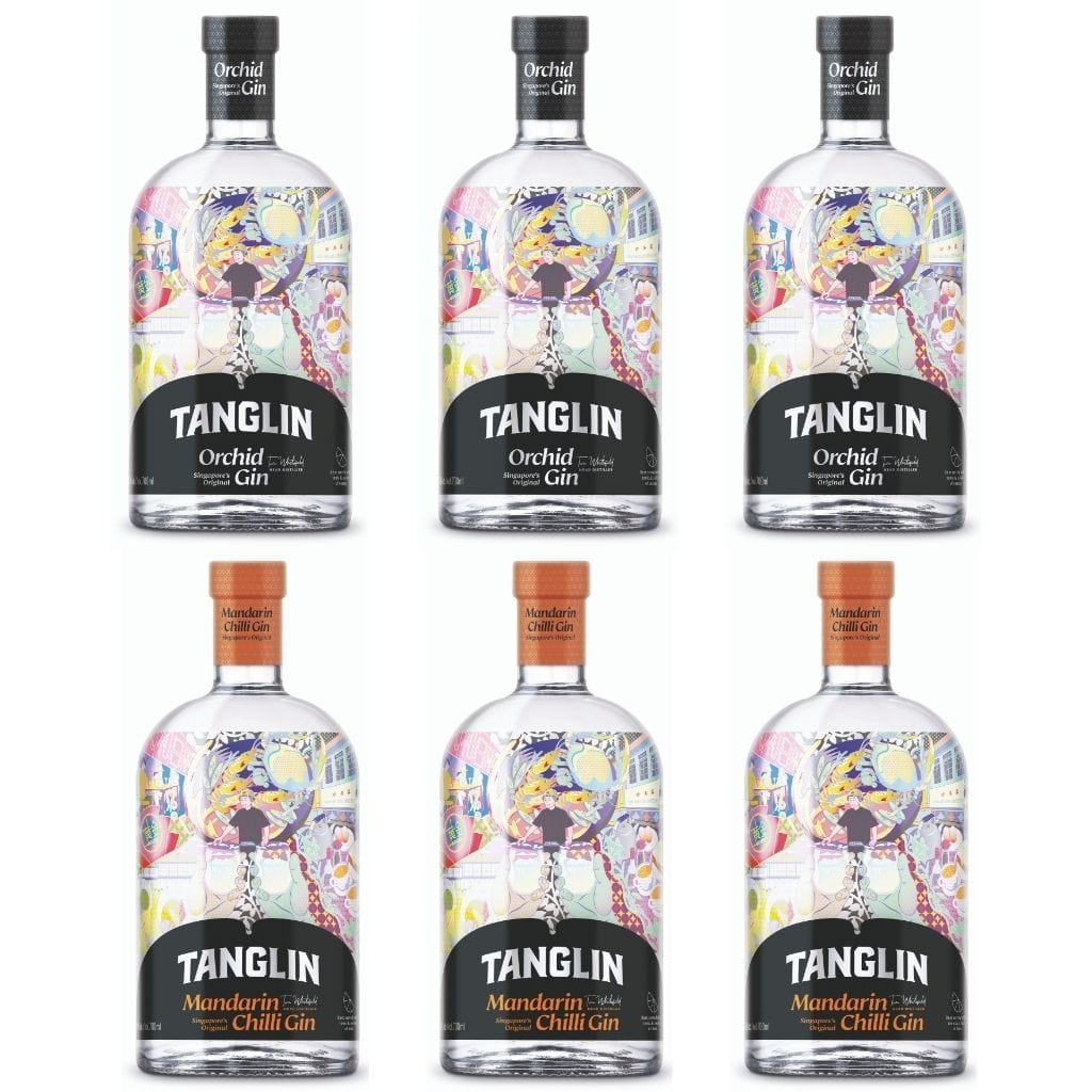 Tanglin Gin - Mixed Case 6 Pack
