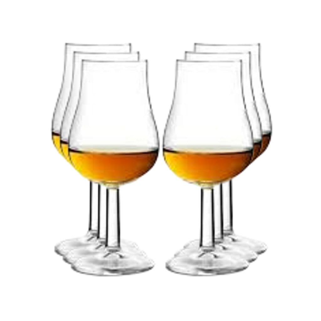 6 Pack Royal Leerdam Specialist Whisky Tasting Glass