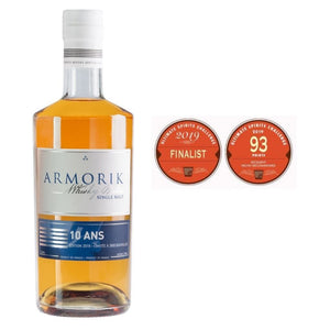 Armorik Single Malt 10-Year-Old 46% 700 ml
