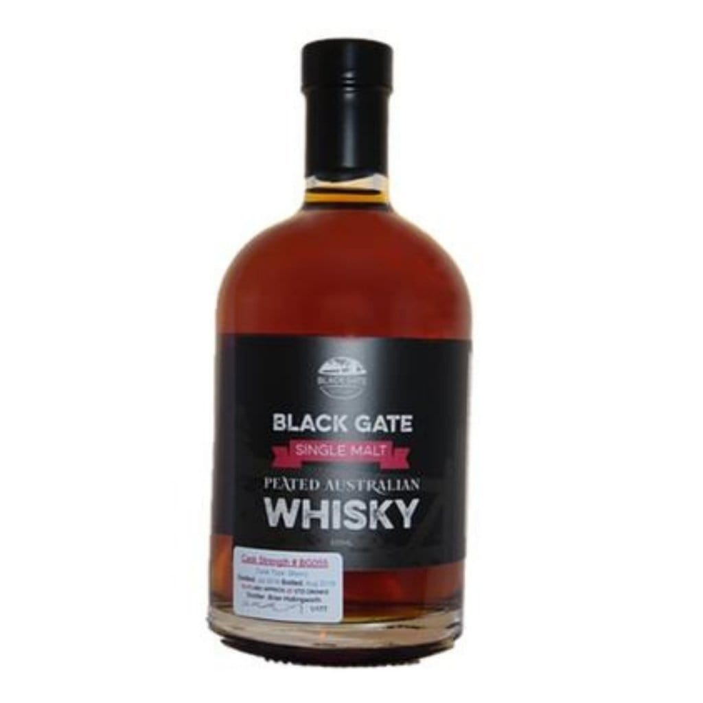 Black Gate BG55 Peated Single Malt 63.6% 500ml