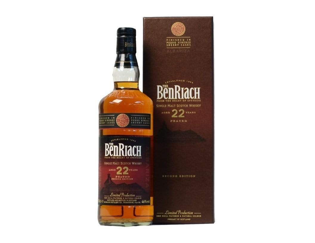 Benriach 22 Albariza Pedro Ximenez Wood Finish