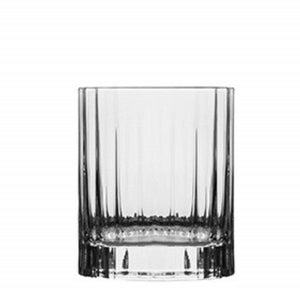 Luigi Bormioli Bach Whiskey Crystal Glassware 255ml - 6 Pack