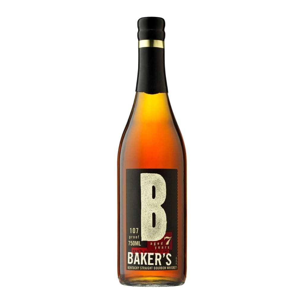 Bakers Bourbon 7 Year Old 53.5% 750ml