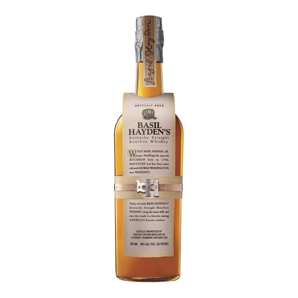 Basil Hayden's Kentucky Straight Bourbon Whiskey 40% 750ml