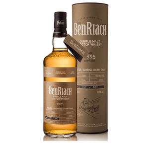 BenRiach 22YO Peated Olorosso Batch 15 Single Cask #7383 1995, 51.1% 700ml