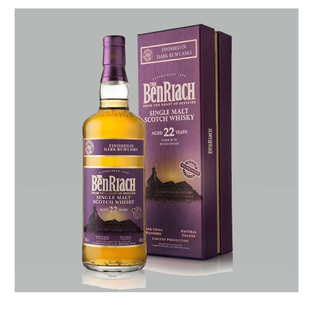 Benriach 22YO Dark Rum Casks 46% 700ml