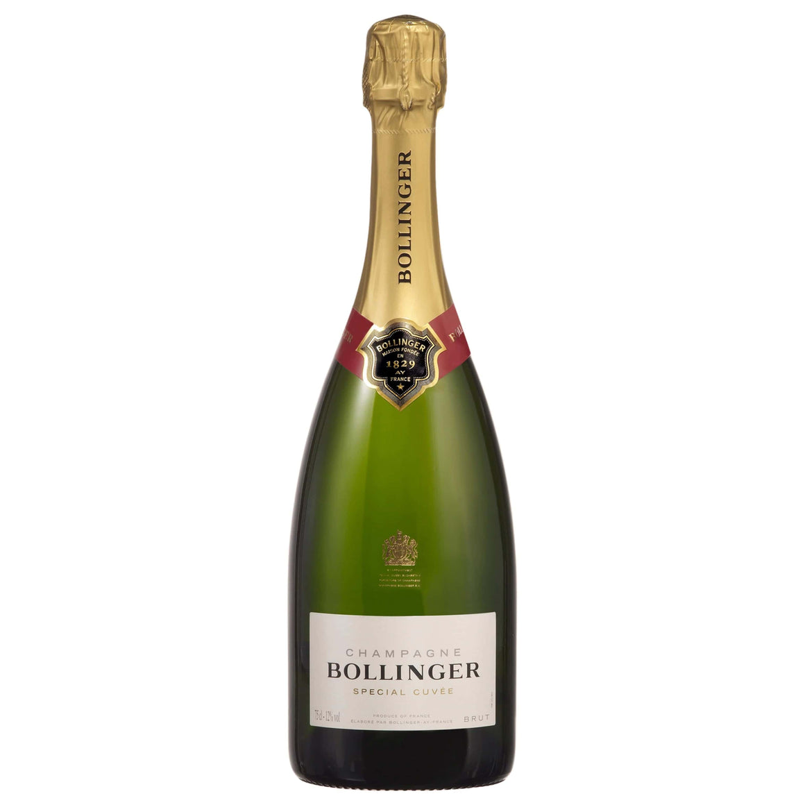 Personalised Bollinger Special Cuvee Champagne 750ml
