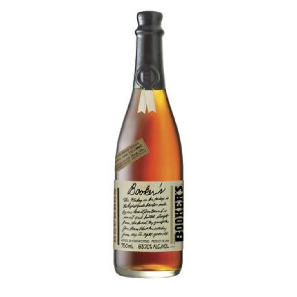 Booker's Bourbon Cask Strength Whiskey 62.95% 750ml