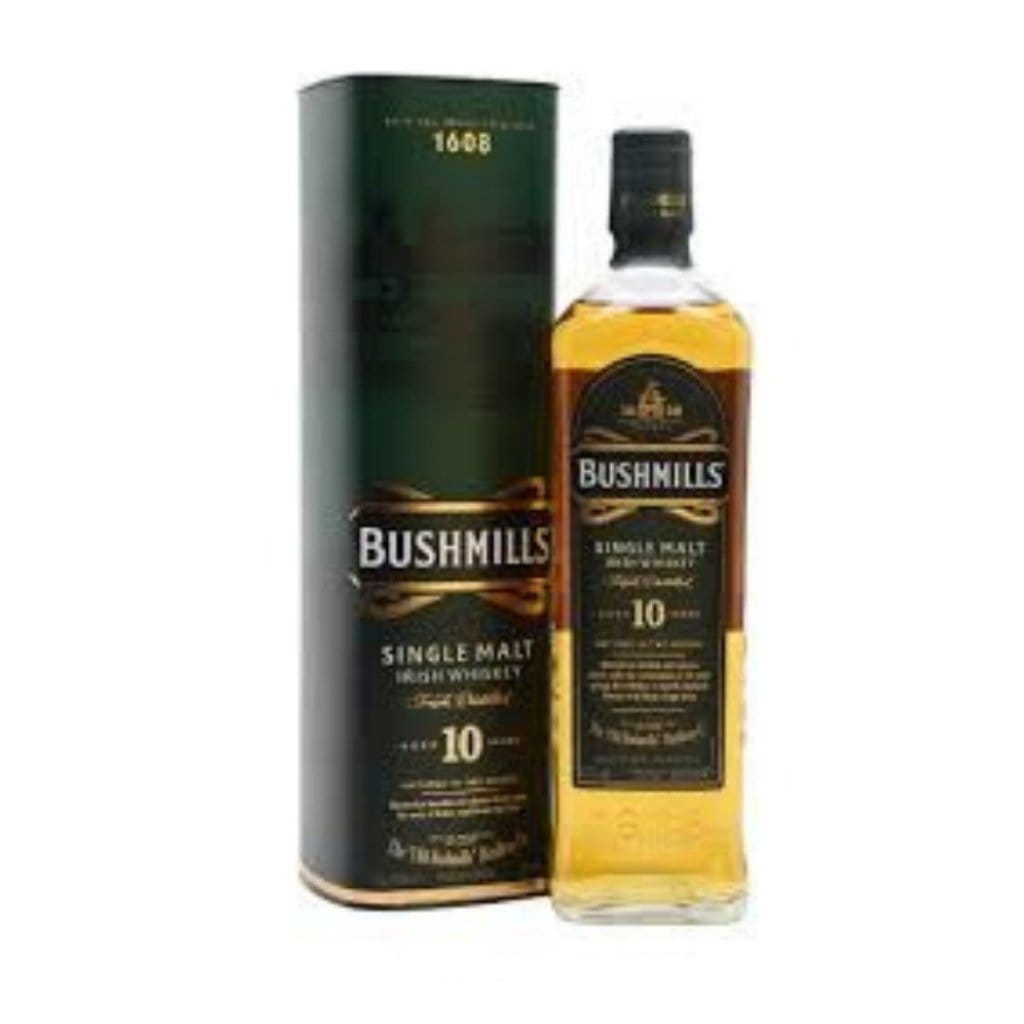 Bushmills 10YO Irish Whiskey 40% 700ml