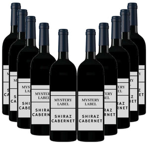 Mystery Label Shiraz Cabernet 12 Pack
