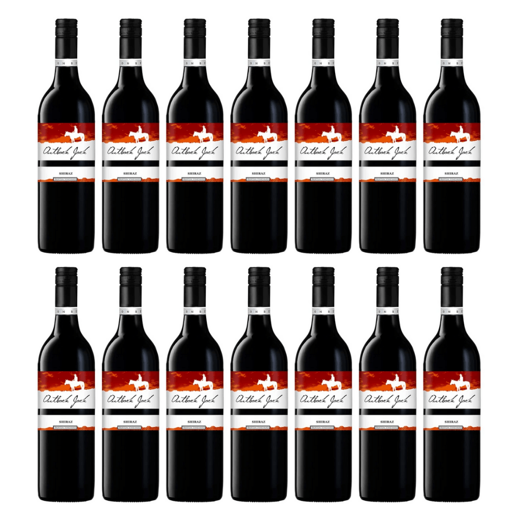Outback Jack Shiraz 12 pack