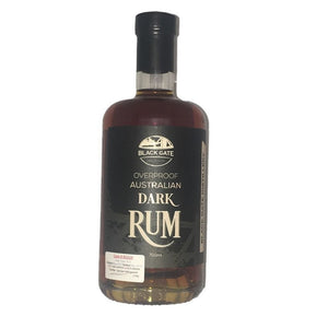 Black Gate Dark Rum BG028 50.5% 700 ml
