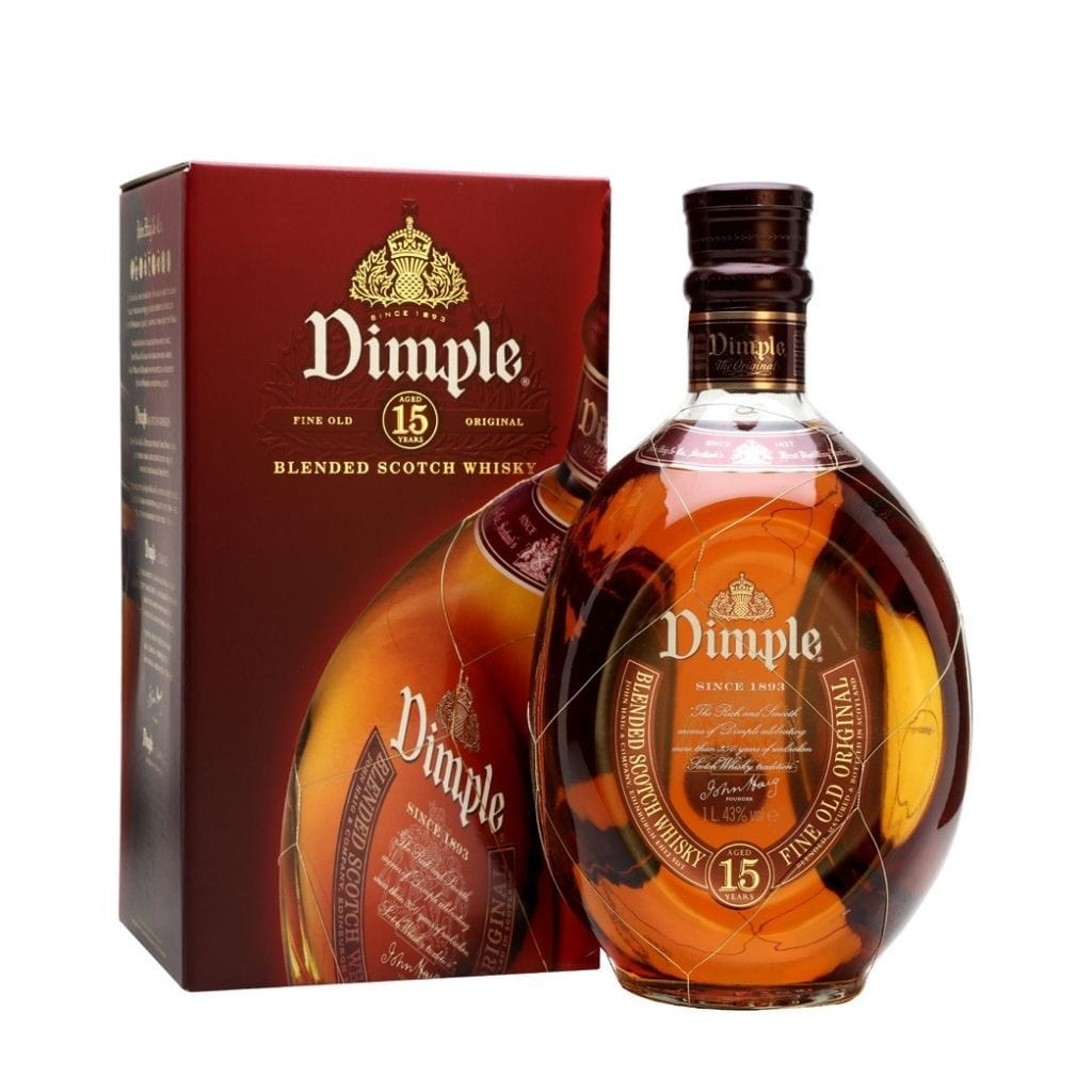 Dimple 15 Year Old Scotch Blended Whisky 40% 700ml