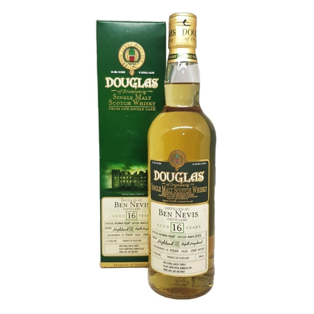 DoD Ben Nevis Cask Strength 16 Year Old Single Cask 54.1% ABV