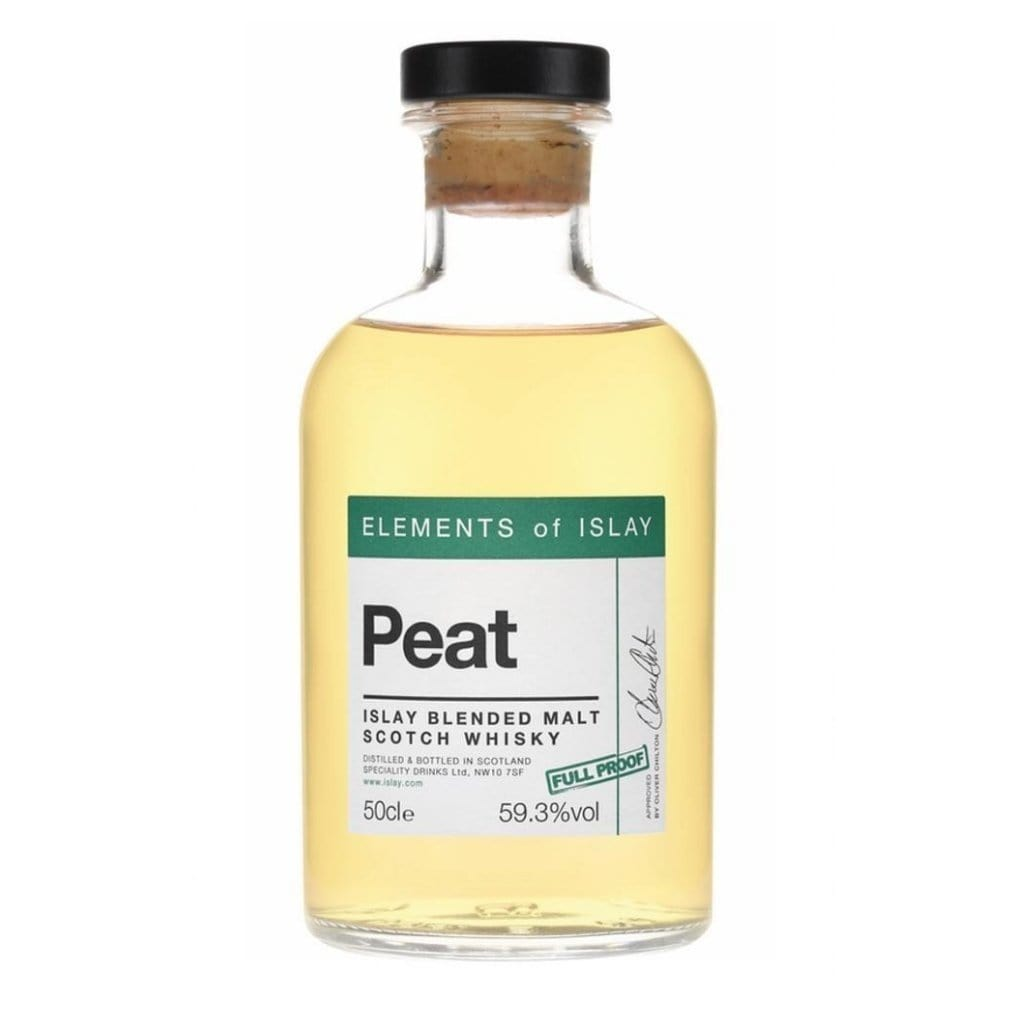 Elements of Islay Peat Full Proof Cask Strength Blended Malt Scotch Whisky 59.3% 500ml