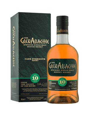 GlenAllachie 10-Year-Old Cask Strength 57.1% 700ml