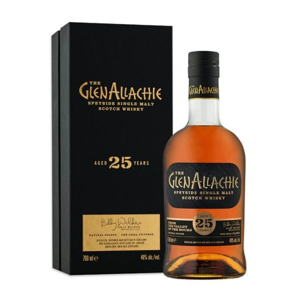 GlenAllachie 25-Year-Old 46% 700 ml