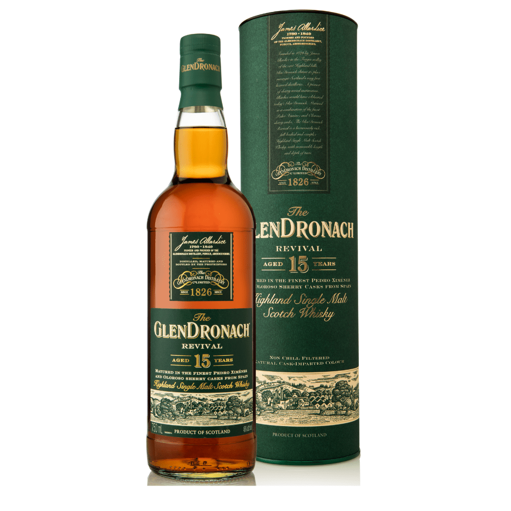 The GlenDronach 15 Yr Old Revival