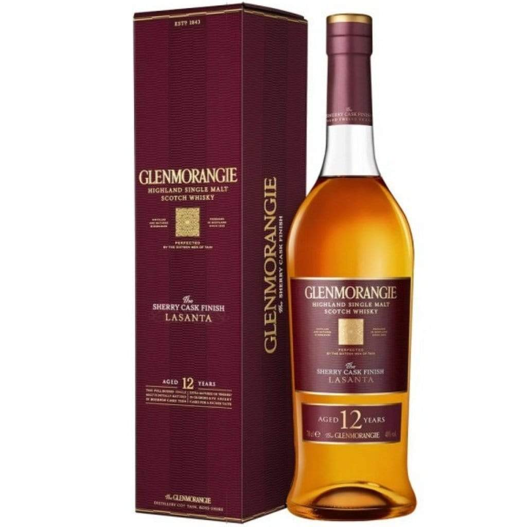 Personalised Glenmorangie The Lasanta 12 YO Single Malt Scotch Whisky 43% 700ml