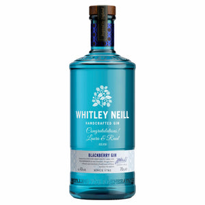 Personalised Whitley Neill Blackberry Gin 43% 700ml
