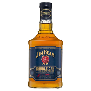 Jim Beam Double Oak Twice Barreled 43% 700 ml