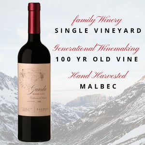 Lagarde Guarda Malbec DOC Single Vineyard 2015 - 6 pack