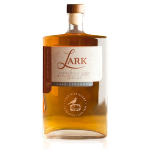 Lark Cask Strength Tasmanian Single Malt  Whisky 58% 500ml