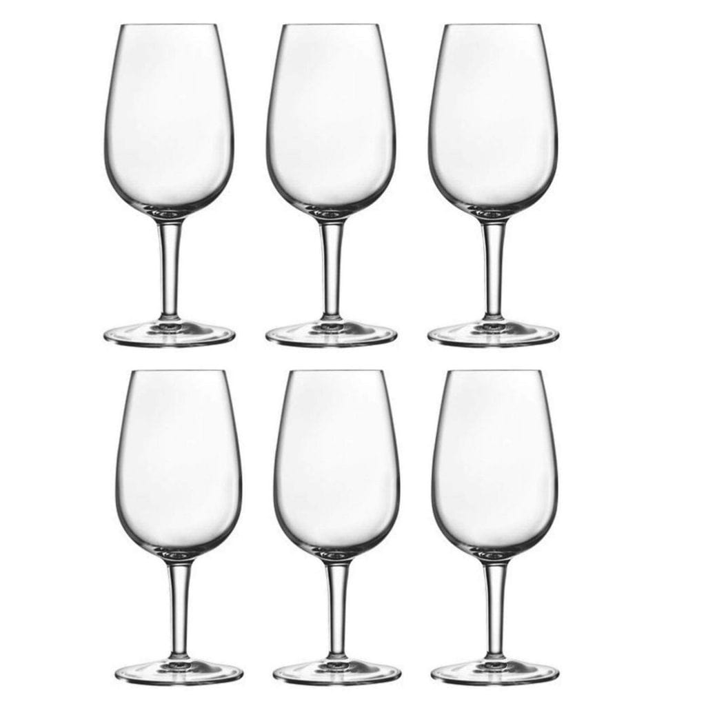 Luigi Bormioli DOC 120ml Wine Tasting Glass - 6 Pack