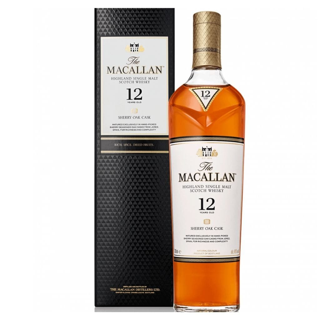 The Macallan Sherry Oak 12-Year-Old 40% 700ml