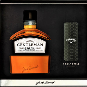 Gentleman Jack Golf Ball Gift Pack 700 ML