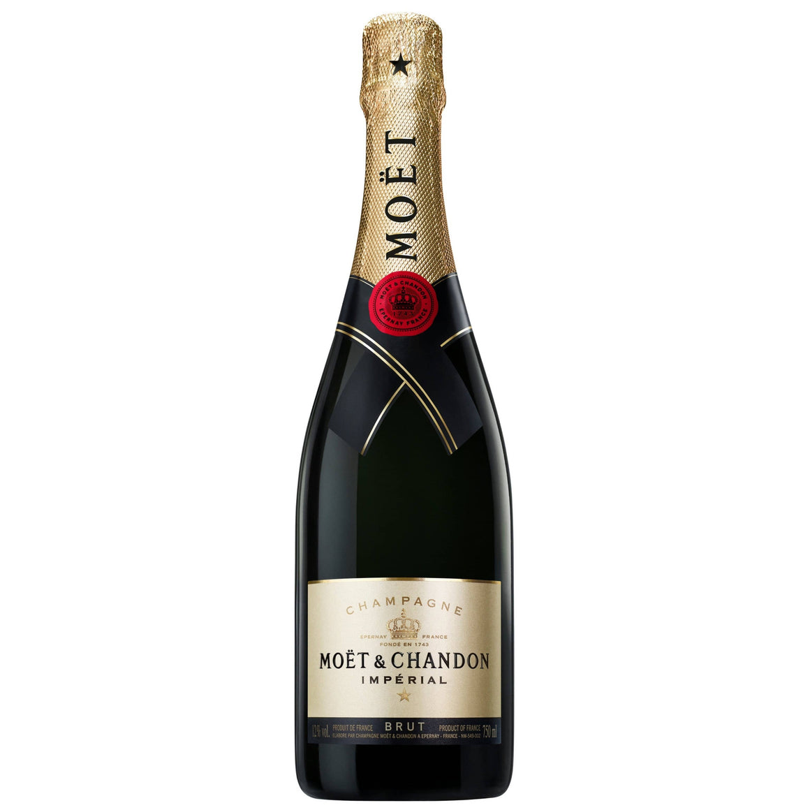 Personalised Moet & Chandon Brut Imperial Champagne NV 750ml