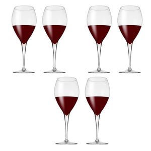 Pasabahce Monte Carlo Red Wine Glassware 355ml Set of 6