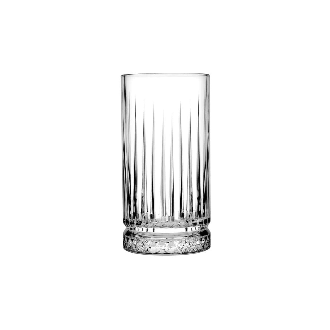 Pasabahce Elysia Whisky Tumbler Crystal Scotch Glasses 445 ml - 1 pack