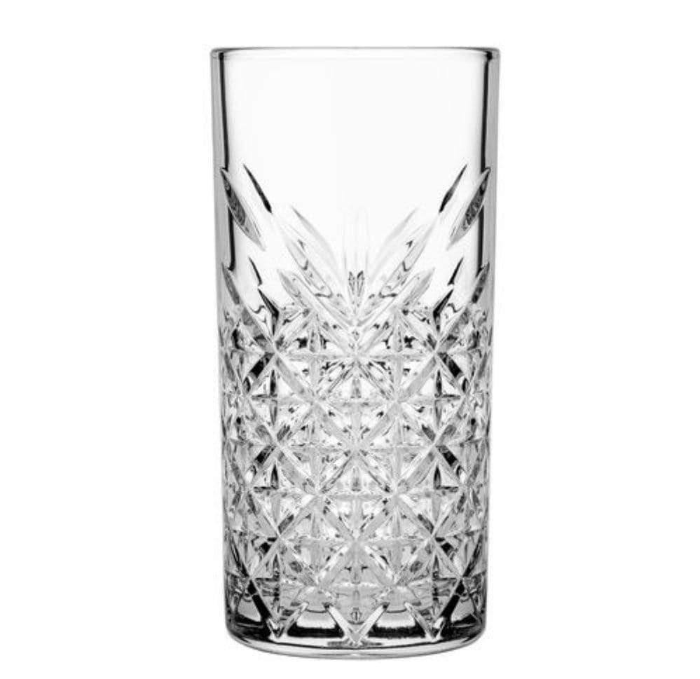 Pasabahce Timeless Cocktail Long Drink Glassware 450ml