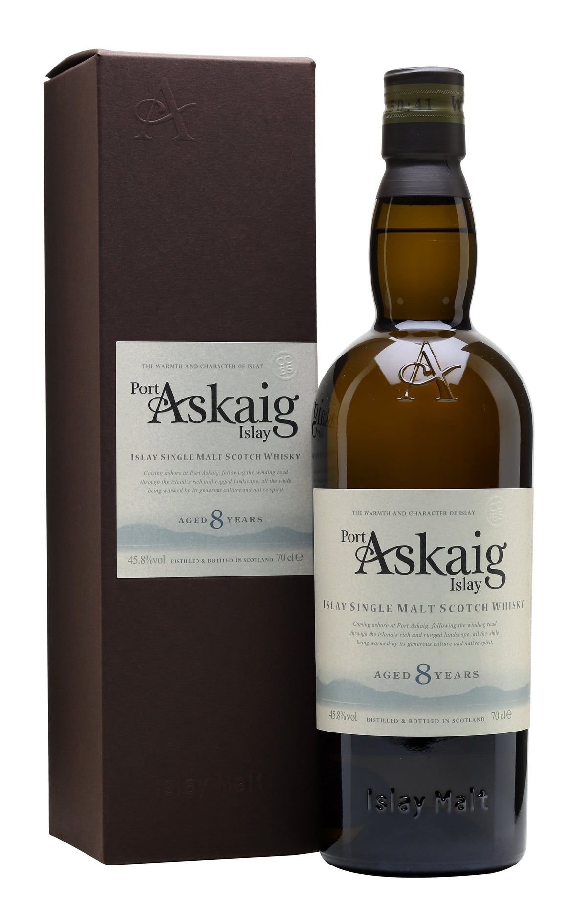 Port Askaig 8YO 45.8% 700ml bottle