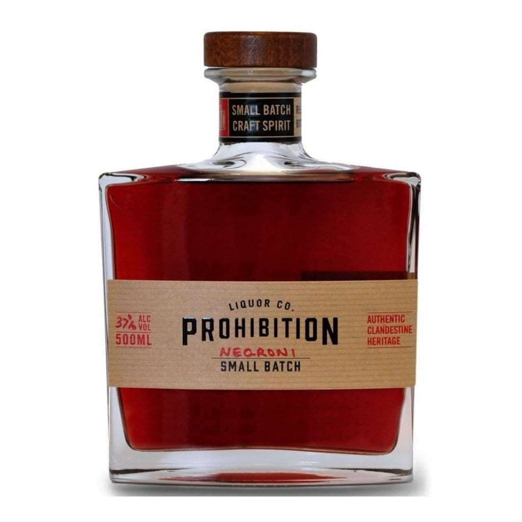 Prohibition Bathtub Cut Negroni 37% 500ml Australia Gin