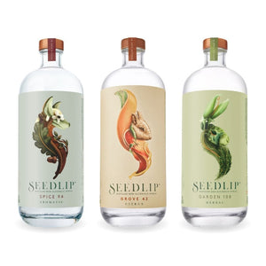 Seedlip Spice 94 / Grove 42 / Garden 108 Non-Alcoholic Spirit 700ml - Trio Pack