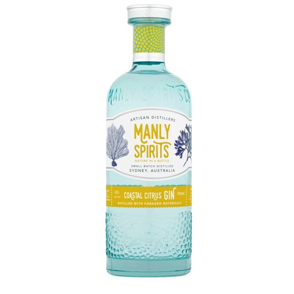 Manly Spirits Distillery - Coastal Citrus Gin 43% 700ml
