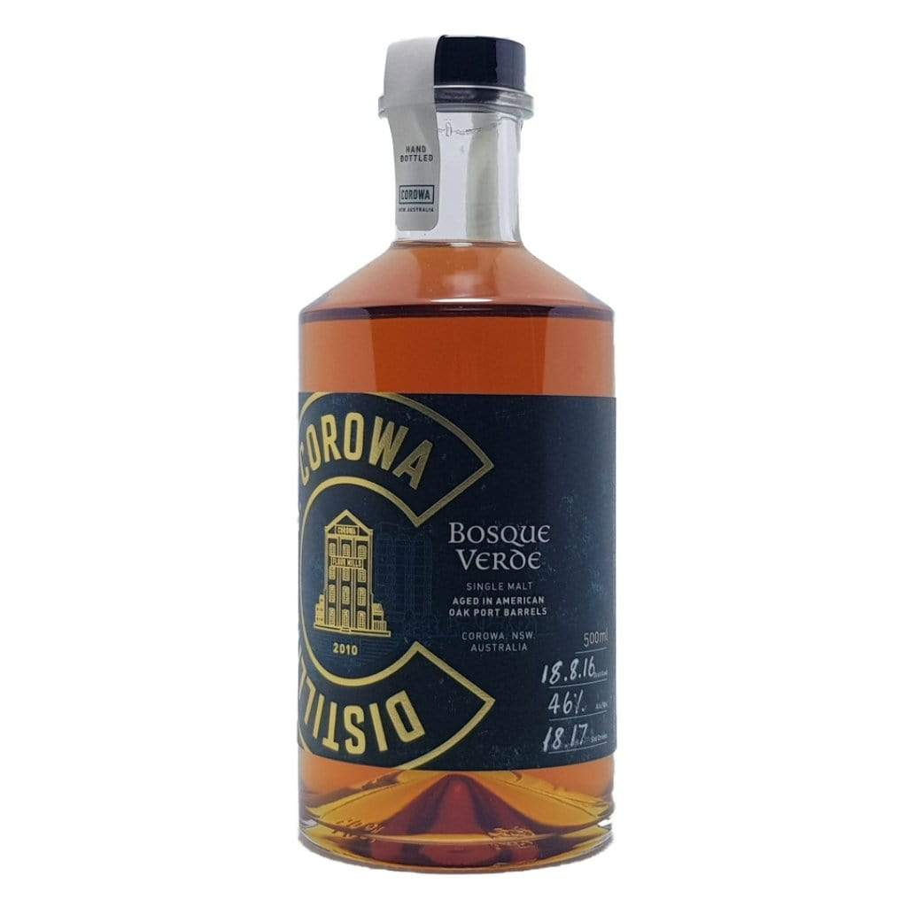 Personalised Corowa Bosque Verde Australian Single Malt Whisky 46% 500ml