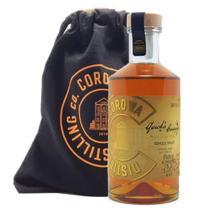Personalised Corowa Quick's Courage Single Malt 46% 500ml