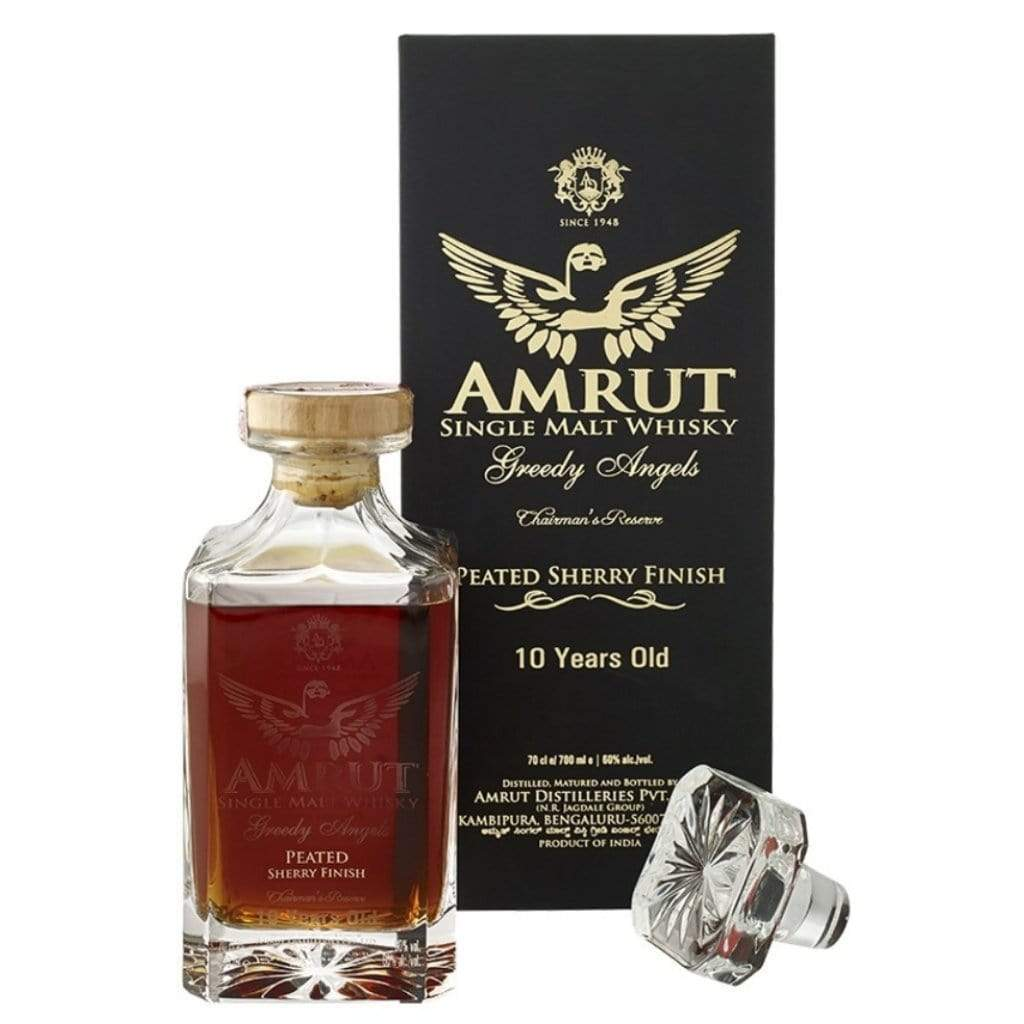 Amrut Greedy Angels 10 YO Peated Sherry Finish 60% 700ml
