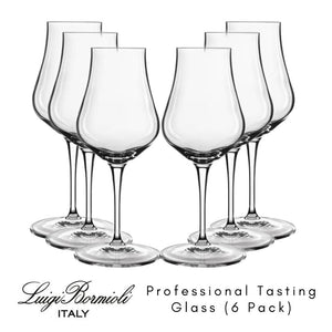 6 Pack Luigi Bormioli Vinoteque Spirits Tasting Glass 170ml