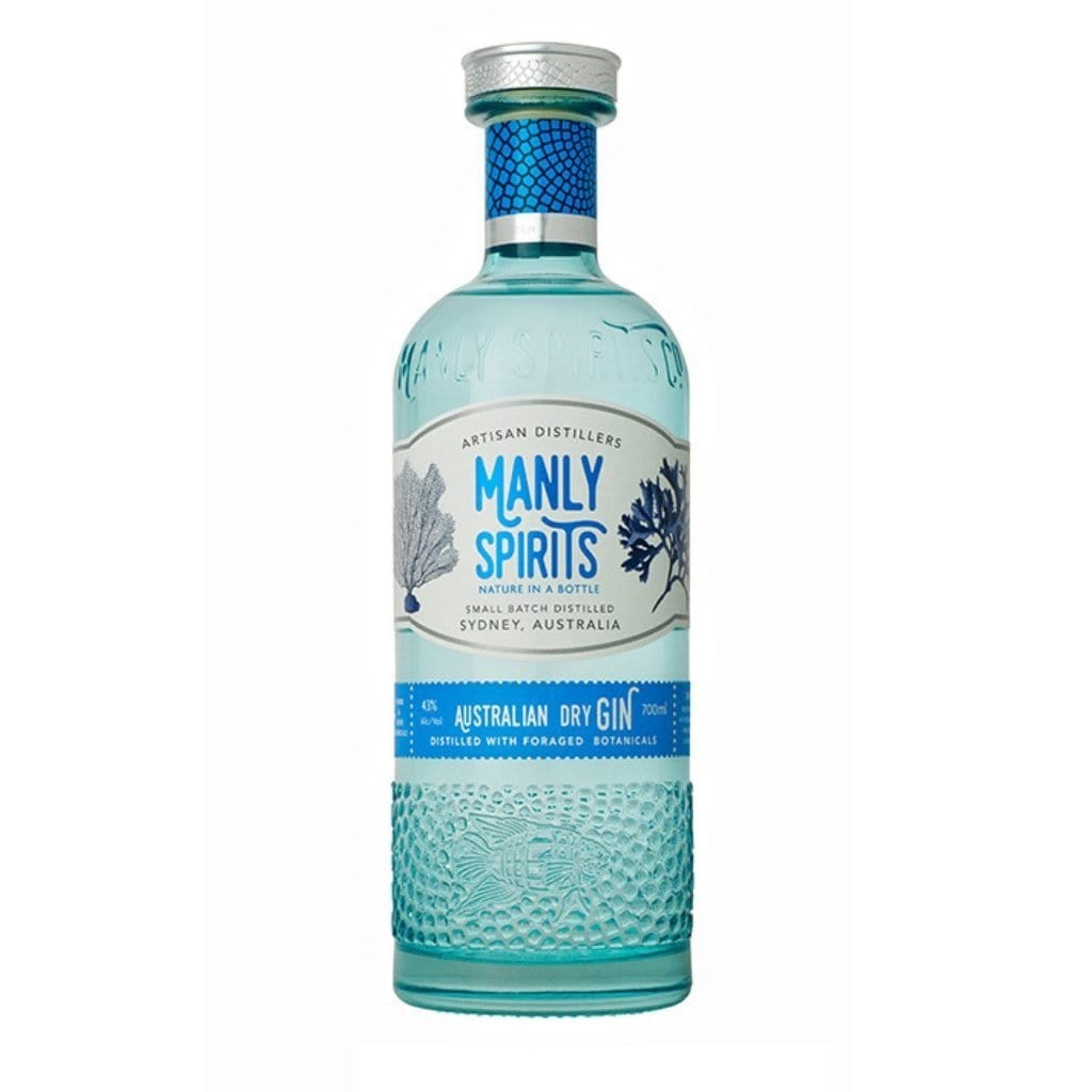 Manly Spirits Distillery - Australian Dry Gin 43% 700ml