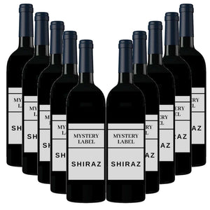 Mystery Label Shiraz 12 Pack