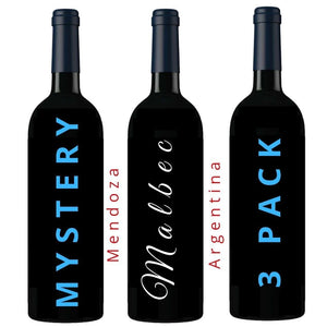Mystery Argentinian Malbec 3 Pack